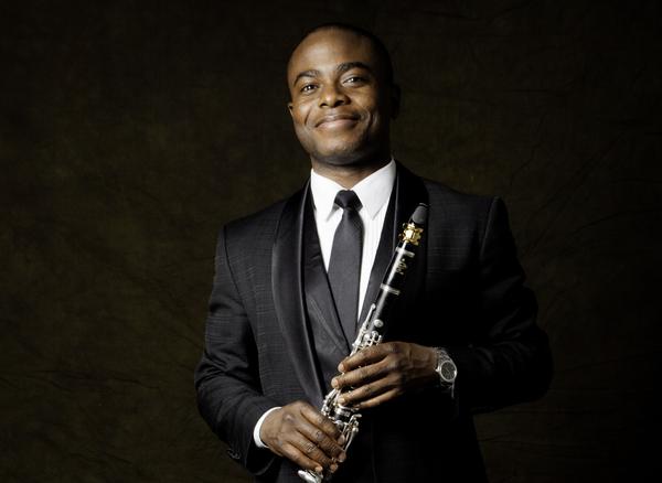 New York Philharmonic clarinetist Anthony McGill. (Courtesy)