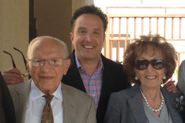 Emilio Nicolas (left) and his family.