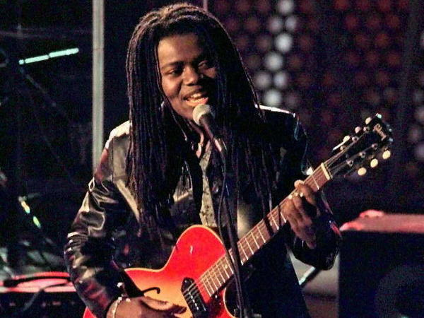 Tracy Chapman, shown here at the 39th Grammy Awards, is included in our starter kit for women's music.