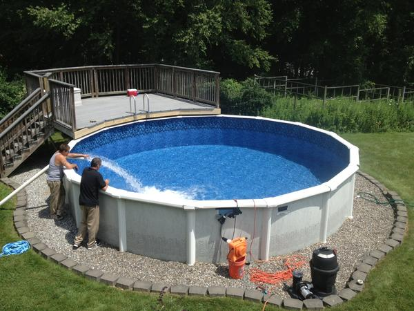 Pool sales are surging nationwide but if you buy one you may have to install it yourself because of high demand.