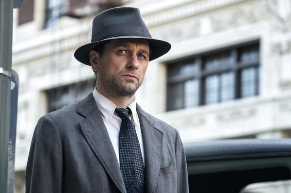 """Matthew Rhys plays <em></em>Perry Mason in the new HBO reboot of the legal drama based on Erle Stanley Gardner's detective stories. """"To my mind, he makes a good private investigator because he doesn't fit in in any way,"""" Rhys says."""