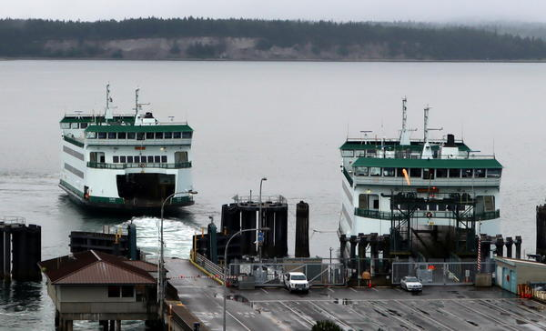 Washington State Ferries is only using one of the two boats it normally assigns to the Port Townsend-Coupeville route in summer, as is the case on routes to downtown Seattle as well.
