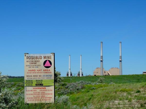 The Rosebud Mine near Colstrip, Montana.