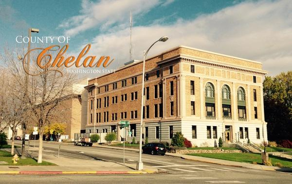 The Chelan County Courthouse in Wentachee, Washington. Courtesy of Chelan County