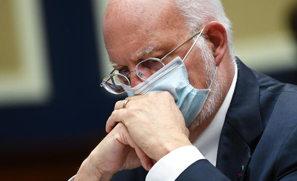 """Our best estimate right now is that for every case that was reported, there actually were 10 other infections,"" Dr. Robert Redfield, director of the Centers for Disease Control and Prevention, said during a conference call Thursday. Redfield is pictured during a hearing of the House Committee on Energy and Commerce on Tuesday."