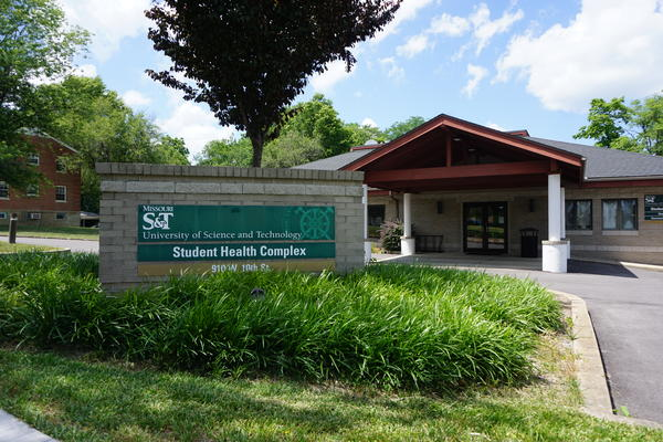 The Student Health Complex at Missouri S&T, where students will call if they have a temperature before coming to campus.