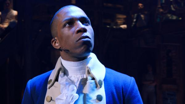 Leslie Odom Jr. originated the role of Aaron Burr on Broadway in <em>Hamilton</em>. Like the rest of the original cast, he's available to watch at home in the film, which arrives Friday on Disney+.