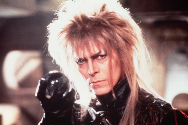 Bowie starred as Jareth the Goblin King in Jim Hensen's 1986 film, <em>Labyrinth</em>.