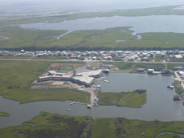 Many coastal research labs, like the Louisiana Universities Marine Consortium, face increased flooding from rising seas.
