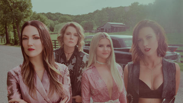 The Highwomen, left to right: Natalie Hemby, Brandi Carlile, Maren Morris and Amanda Shires.