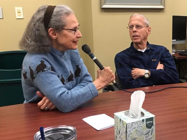 Carol Houstan and her husband Joe are part of Dr. Ala's study.