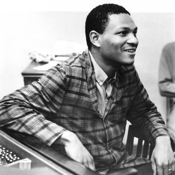 Jazz great McCoy Tyner, seen here in a 1970 photo, died Friday at the age of 81.