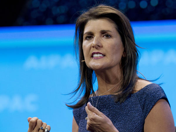Nikki Haley resigned from the board of Boeing over the aerospace giant's bid to receive funds as part of a coronavirus bailout.