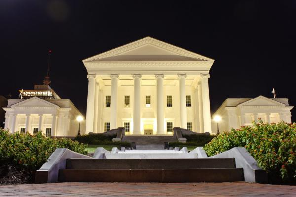 The Virginia State Capitol as seen on Nov. 10, 2014.