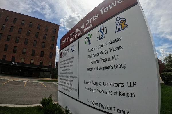 Cancer Center of Kansas near Wesley Medical Center in Wichita