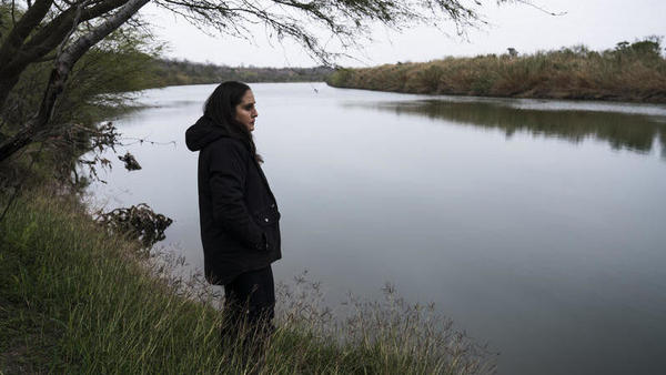 For five generations Nayda Alvarez's family has owned property along the Rio Grande near Rio Grande City, Texas. Alvarez says that if the border wall were built as laid out in preliminary maps, her house would end up about a yard away from it. This could mean that her house would have to be demolished in order to leave the 150-foot enforcement zone clear for surveillance.