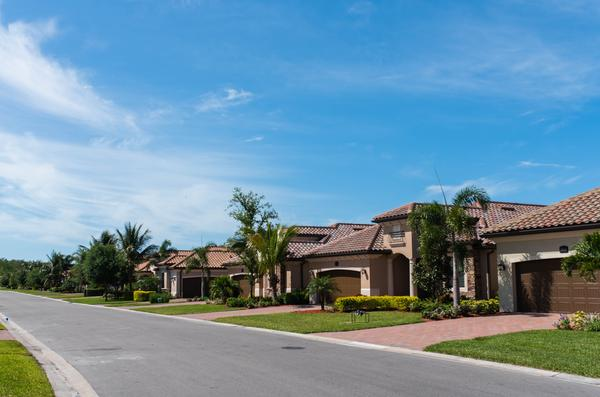 The group Florida Realtors says there's few homes going under contract this month compared to last year.