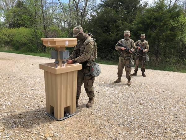 Face coverings and hand-washing stations are now part of field training at Fort Leonard Wood. Leaders there want soldiers' and civilians' help in making sure everyone follows those rules.