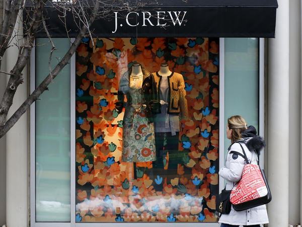 J.Crew said it hopes the bankruptcy filing will help it get its finances in order while it keeps running, though for now under COVID-19 restrictions.