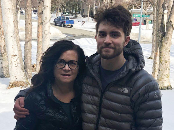 The dental practice where Candace Grenier has worked for two decades shut down in mid-March. That's just before her son, Ryeder, lost his job at an auto body shop.