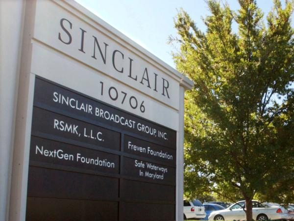 Maryland-based Sinclair Broadcast Group was fined a record $48 million by the FCC, the agency announced Wednesday.