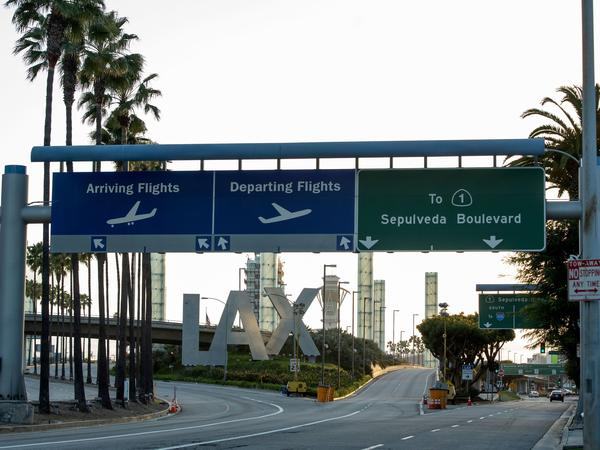 All passengers will be required to wear face coverings at Los Angeles International Airport beginning May 11.