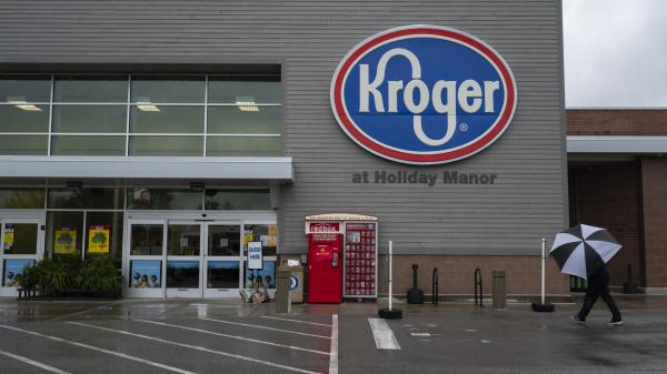 "The increase in cases comes after companies such as Kroger ended extra ""hero pay"" for their workers."