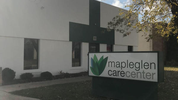 Mapleglen Care Center serves both medical and recreational cannabis users in Rockford, Ill.