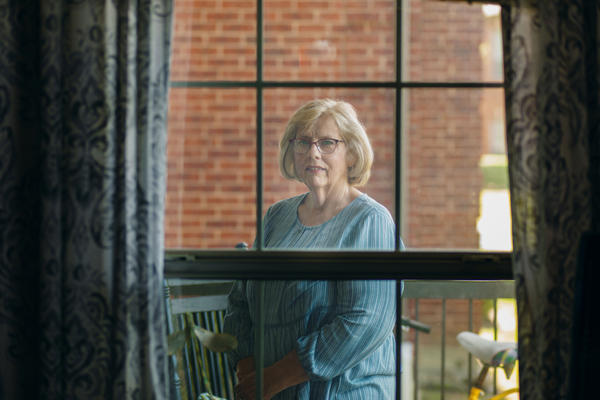 Luann Thibodeau recently celebrated her 40th anniversary with her husband, Jeff. They ate dinner from Olive Garden while she remained on the other side of his nursing room window. The Thibodeaus have not been in the same room since mid-March when visitors were banned from nursing homes to slow the spread of the coronavirus.