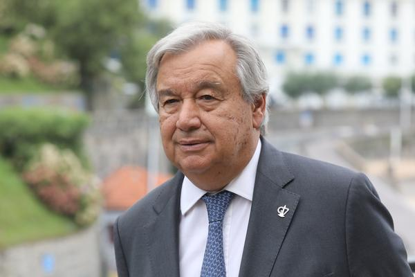"United Nations Secretary-General António Guterres says ""there was no unity around the world in the strategy to fight the pandemic."""