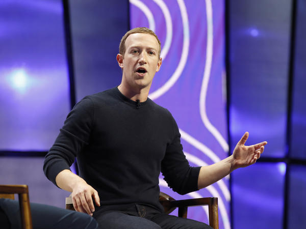 CEO Mark Zuckerberg's hands-off approach to President Trump has set off a public revolt among Facebook employees that is the company's biggest challenge this year.