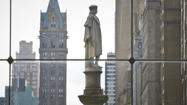 "Gov. Andrew Cuomo says the Christopher Columbus statue at Manhattan's Columbus Circle ""has come to represent and signify appreciation for the Italian American contribution to New York."""