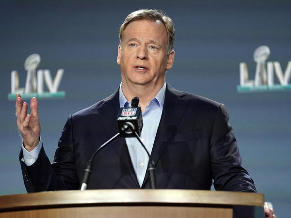 """NFL Commissioner Roger Goodell said even if Colin Kaepernick does not find his way on an NFL roster this upcoming season the league would welcome his insights to """"help us and guide us and help us to make better decisions"""" on complex issues."""