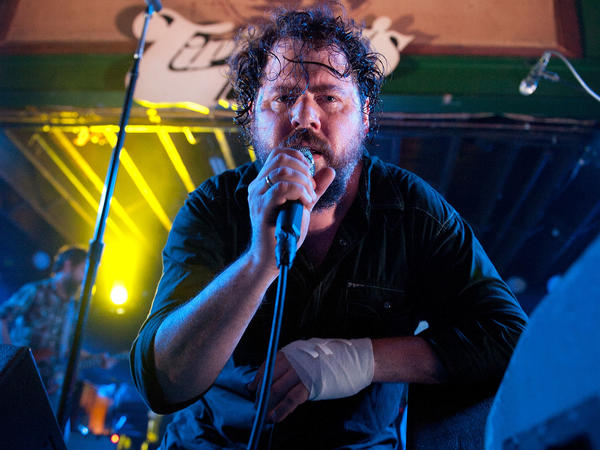 Patterson Hood of The DBTs, performing at Tipitina's in New Orleans on Sept. 3, 2011.