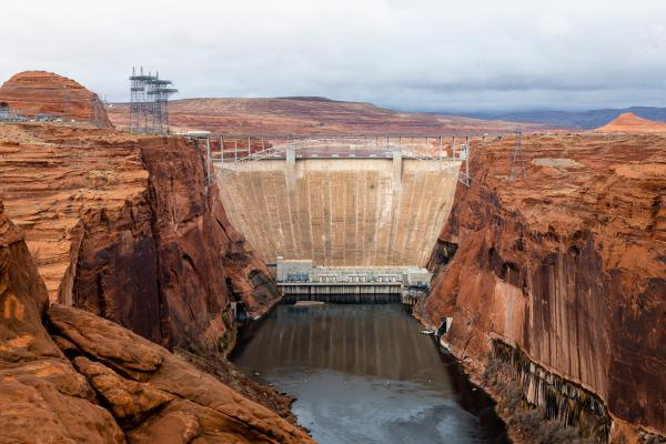 It took 17 years for the water backed up by Glen Canyon Dam to flood 186 miles of Glen Canyon, which became Lake Powell.