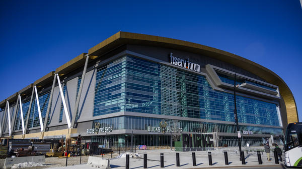 The scaled-down Democratic National Convention will no longer be held at the Fiserv Forum, but instead include events at the convention center in downtown Milwaukee.