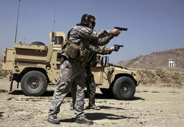 U.S. Army Special Forces soldiers trained in Afghanistan in 2009. Members of Congress want answers about reported Russian bounties paid to target American troops.