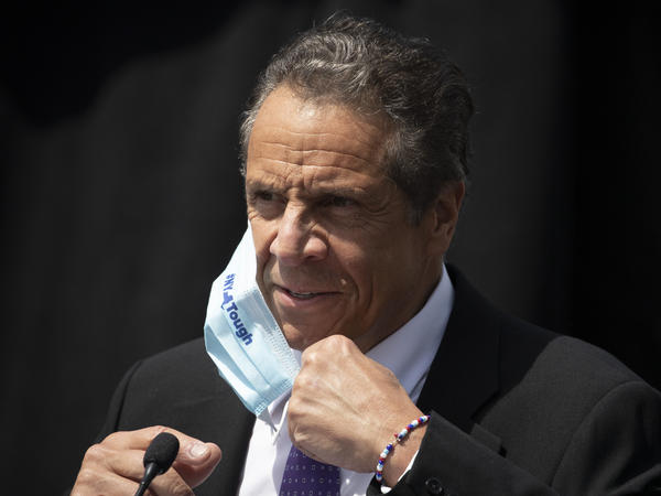 New York Gov. Andrew Cuomo joined Connecticut and New Jersey in instructing travelers from 16 states with rising numbers of coronavirus cases to self-quarantine.