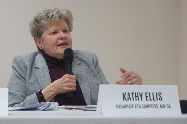 Congressional candidate Kathy Ellis (here in Rolla in a 2019 file photo) is leading the TEAM effort