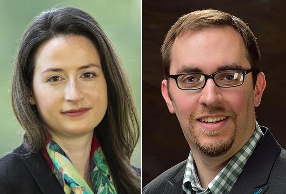 Jennifer Peck, an economics professor at Swarthmore College, and Philip Gressman, a math professor at the University of Pennsylvania.