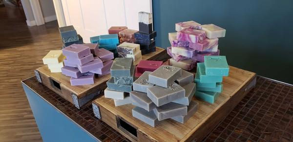 Rock Creek Soaps in Billings carries a variety of soaps and hand sanitizers.