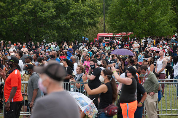 Scenes from a Juneteenth celebration in Tulsa, Okla. on Friday, June 19, 2020.