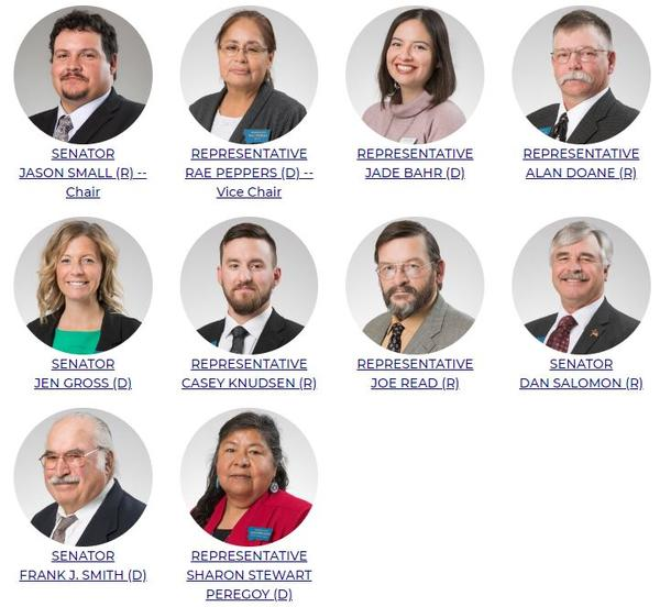 The 2019-2020 Montana State-Tribal Relations Committee