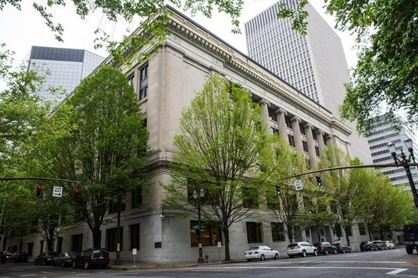 "<p>The Multnomah County Courthouse is pictured Saturday, May 25, 2019, in downtown Portland, Ore.</p> <p><span style=""font-family: Helvetica, Arial, 'Liberation Sans', FreeSans, sans-serif; font-size: 13px;"">&nbsp;</span></p>"