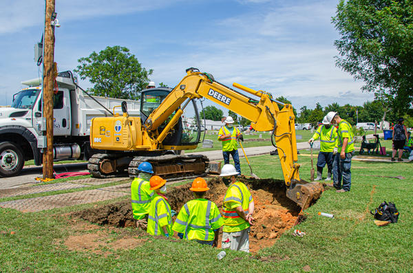 The city of Tulsa, Okla., has begun a test excavation to determine if land on city-owned property is the site of a mass grave from the 1921 Tulsa Race Massacre.