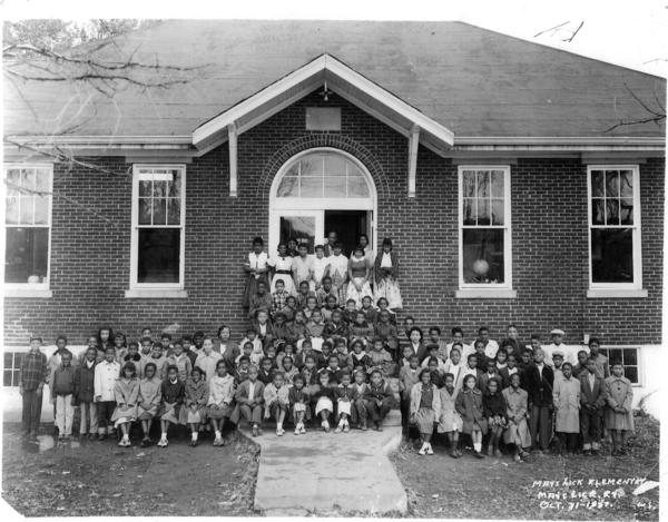 In the early 1900s, educator Booker T. Washington and Sears Roebuck president Julius Rosenwald built schools across the South for African American students. May's Lick Rosenwald School, in Maysville, Ky., was built in 1921, and it has received one of 27 preservation grants from the African American Cultural Heritage Action Fund.