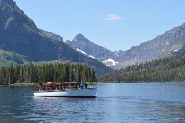 Glacier Park Boat Company, Inc. is the approved concessioner for interpretive boat tours in Glacier National Park.