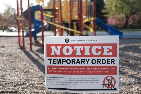 <p>Portland Public Schools are closed&nbsp;during the Covid-19 pandemic.</p>
