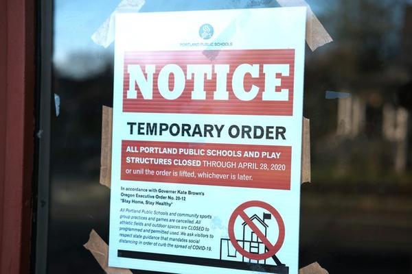 <p>Portland Public Schools closed in-person classes in March 2020, due to the coronavirus pandemic.&nbsp; </p>