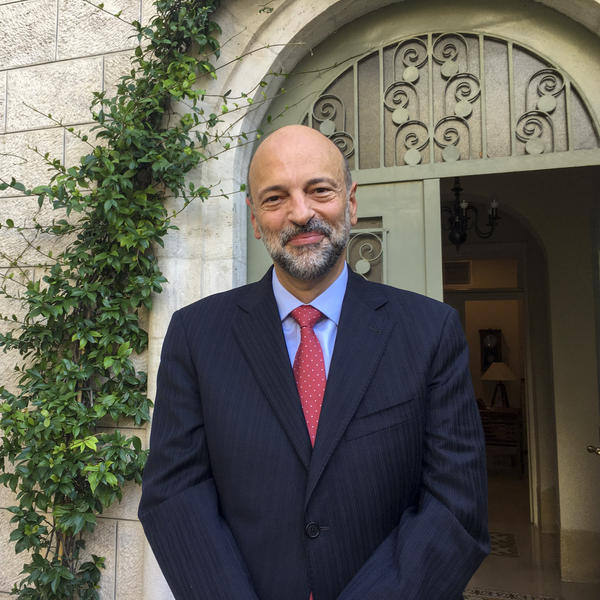 """From day one, any discussion of herd immunity or survival of the fittest or, you know, 'Say farewell to the elderly,' are the things that just did not sound right for us,"" Jordan's Prime Minister Omar Razzaz tells NPR. ""So we went for a very different model in Jordan, based on social solidarity."""